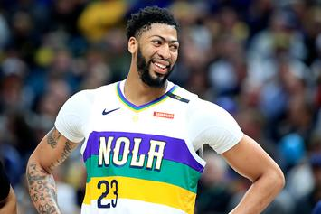 Knicks Will Look To Trade For Anthony Davis If They Get #1 Pick: Report