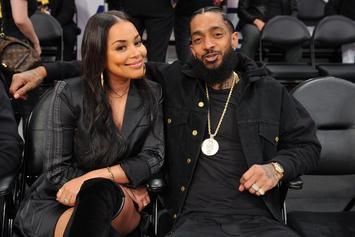 "Lauren London Crowns Nipsey Hussle The Forever ""King Of Los Angeles"""