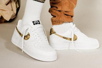 """Nike Air Force 1 Low """"Ivory Snake"""" Returns Over 20 Years After Debut"""