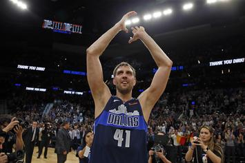 Dirk Nowitzki Has Done Nothing But Binge Ice Cream Since Retiring