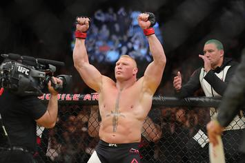 Brock Lesnar's Next Opponent Reportedly Set For WWE Saudi Arabia PPV
