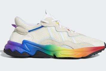 Adidas Ozweego Celebrates Pride Month With Rainbow Highlights: Photos