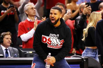 """Drake Casually Responds To Reports That His Courtside Antics Are """"Disrespectful"""""""
