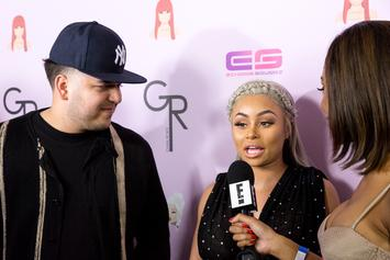 "Blac Chyna Talks Her ""Good Relationship"" With Rob Kardashian"