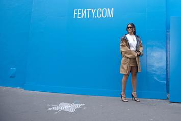 Rihanna Taps Momma Fenty To Promote Her New Fashion Line