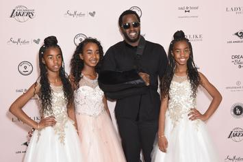"""Diddy Shares Touching Photo Of His 3 Daughters: """"Words Can't Explain"""""""