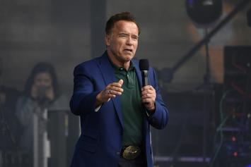 Arnold Schwarzenegger Spits Bars On New Motivational Song