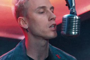 """Machine Gun Kelly Gets Gritty In Video For """"Hollywood Whore"""""""