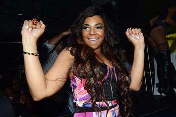 Ashanti Nears NSFW Territory In Sultry New Bath Photos
