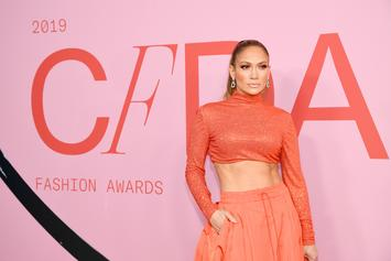 Jennifer Lopez Shows Off Unreal Six-Pack At CFDA Fashion Awards