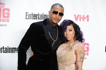 "Tiny Clears Up Cryptic Cheating Message About T.I.: ""He Needs Reminding"""