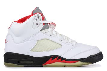 "Air Jordan 5 ""Fire Red"" Releasing Again With Reflective Silver Tongue"