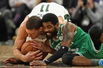 """Kyrie Irving Is Reportedly """"Serious"""" About Joining The Brooklyn Nets"""