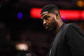 """Tristan Thompson's OG Baby Mama Says Cheating Scandal """"Forced [Her] Into Bed Rest"""""""