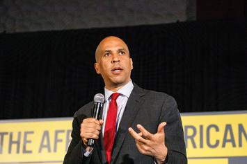 Cory Booker Hints At Possible Engagement To Rosario Dawson