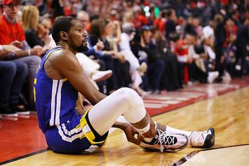 "Steve Kerr On Kevin Durant Injury: ""The Achilles Came As A Complete Shock"""