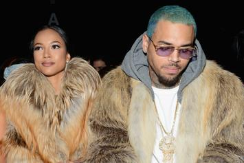 Chris Brown Still Creeping In Karrueche's Comments, Trashes Victor Cruz
