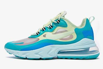 "Nike Air Max 270 React ""Hyper Jade"" Coming Next Month, Detailed Photos"