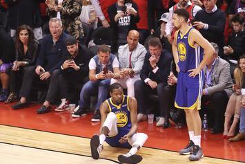 """Kevin Durant & Klay Thompson Have """"Unfinished Business"""" After Injuries"""