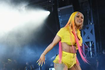 "Cardi B's ""Press"" Debuts In Top 10 On Hot R&B/Hip-Hop Songs Chart"