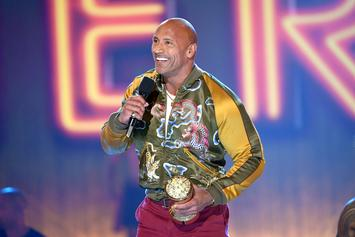 """Dwayne Johnson Shares """"It's More Important To Be Nice"""" In MTV Award Speech"""
