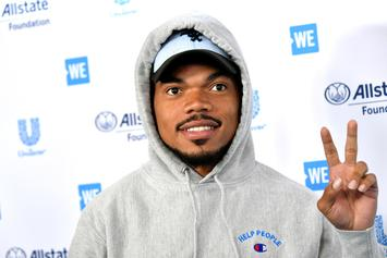 Chance The Rapper Makes Farting Jokes During Stand Up Comedy Debut