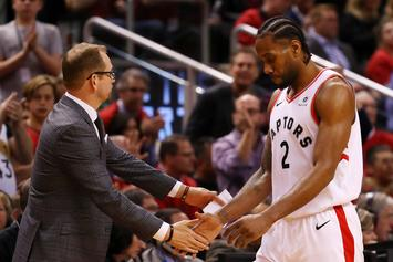 Kawhi Leonard Trolled Nick Nurse With Hilarious D-League Chirp