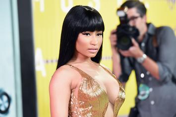 "Nicki Minaj's ""Megatron"" Promo Includes Guns & Her Boyfriend's ""Morning Wood"""