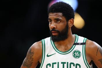 Kyrie Irving Appears To Get Shaded By Celtics GM Danny Ainge