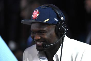 Zion Williamson Geeks Out Over Signed Drew Brees Jersey: Watch