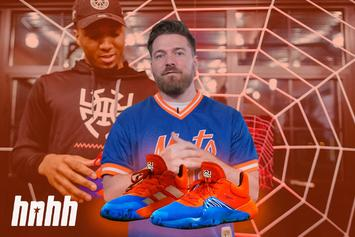 "Unboxing Donovan Mitchell's Adidas D.O.N Issue #1 ""Spiderman"" Colorway"