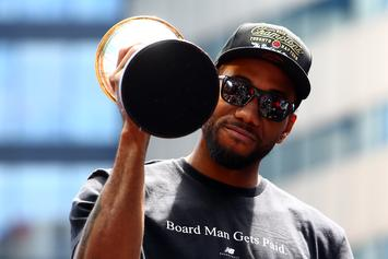 """Kawhi Leonard's People Are """"Skeptical"""" He'll Join The Lakers: Report"""