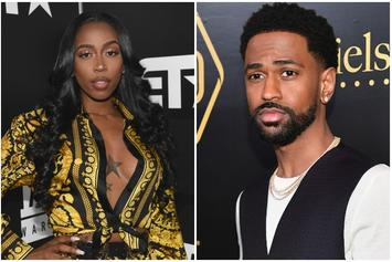 Kash Doll Gifts Big Sean With A Pair Of Cartier Sunglasses