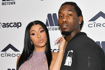 """Offset Praises Cardi B For """"Press"""" Music Video: """"She Is So Creative"""""""
