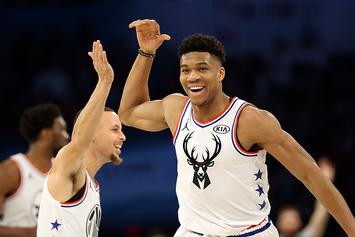 Giannis Antetokounmpo Unbothered By Those Hating On His Nike Shoes