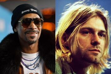 Snoop Dogg & Kurt Cobain Connect In Iconic Throwback Pic