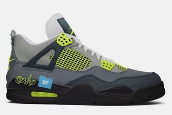 "Air Jordan 4 ""Neon"" Will Honor The Air Max 95: Fresh Details"