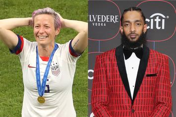 Megan Rapinoe Quotes Nipsey Hussle After World Cup Soccer Win