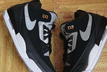 "Air Jordan 3 Tinker ""Black/Grey"" Drops This Month: Closer Look"
