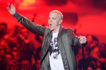 """Eminem Fan Drops Diss Track Against MGK Over """"Floor 13"""" """"Wannabe Rappers"""" Line"""