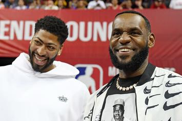 "LeBron James' Jersey Swap Blocked By Nike, Anthony Davis Accepts ""Number 3"""