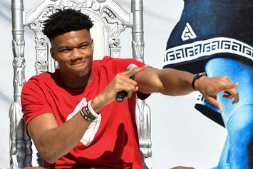 Giannis Antetokounmpo Tries Baseball For The First Time: Watch