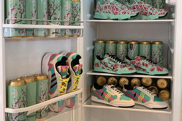 Adidas x Arizona Iced Tea Release 99 Cent Sneaker Collab In NYC: Riot Ensues