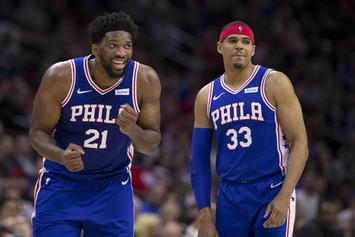 "Joel Embiid Hailed ""Best Center In The NBA"" By Tobias Harris"