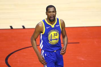 Kevin Durant Offers Rehab Update Straight From His Pool
