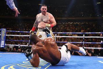 Andy Ruiz Predicts Who Would Win Floyd Mayweather, Manny Pacquiao Rematch