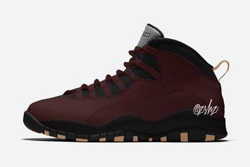 SoleFly x Air Jordan 10 In Velvet Brown Rumored For December: Details