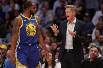 "Andre Iguodala Was ""Most Painful Loss"" Steve Kerr Has Felt As A Coach"