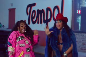 "Lizzo & Missy Elliott Host A Parking Lot Twerk Session In ""Tempo"" Video"