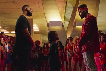 """Drake Loses Dance Battle To Chris Brown In """"No Guidance"""" Video"""